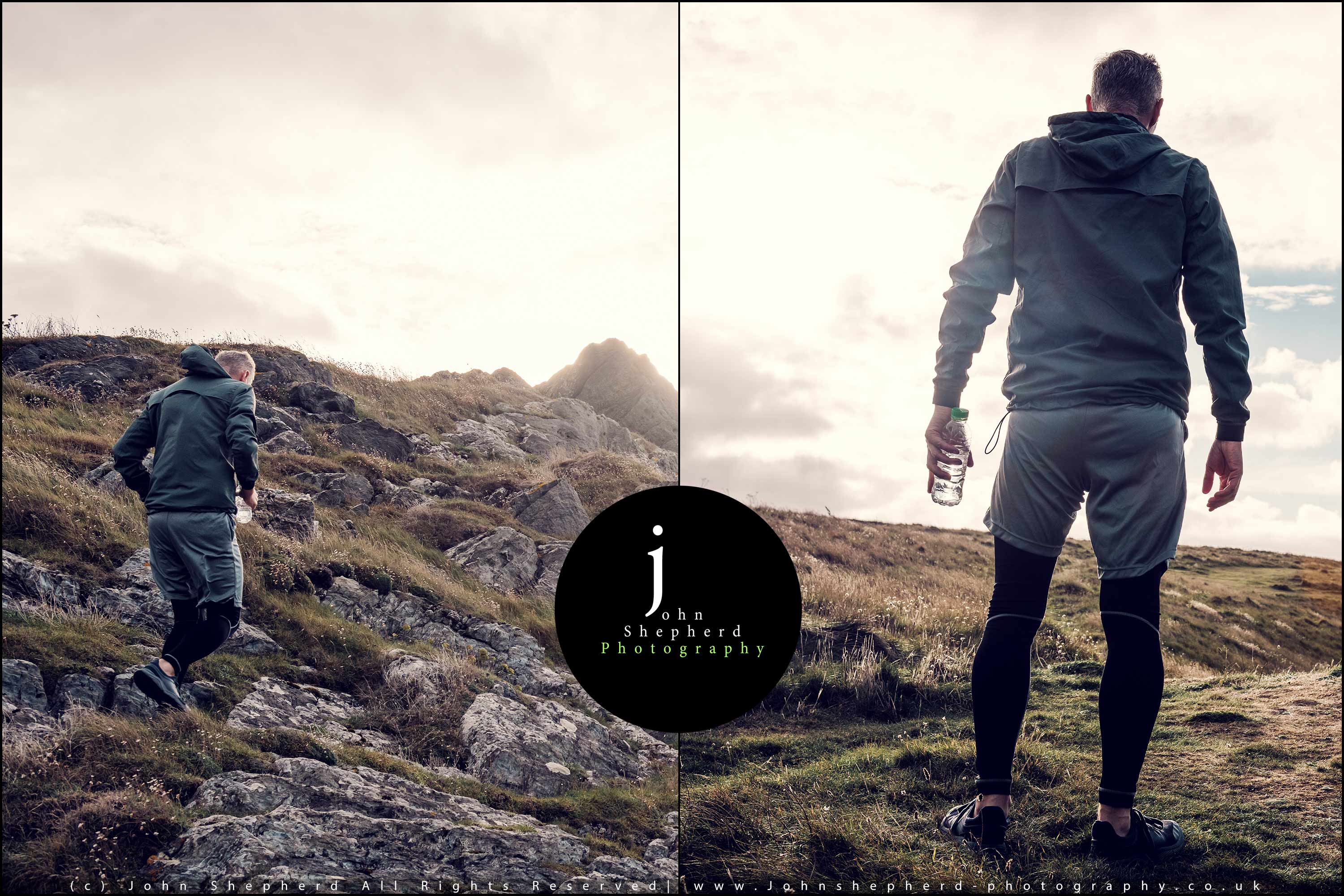 Trail Running Lifestyle Photography.