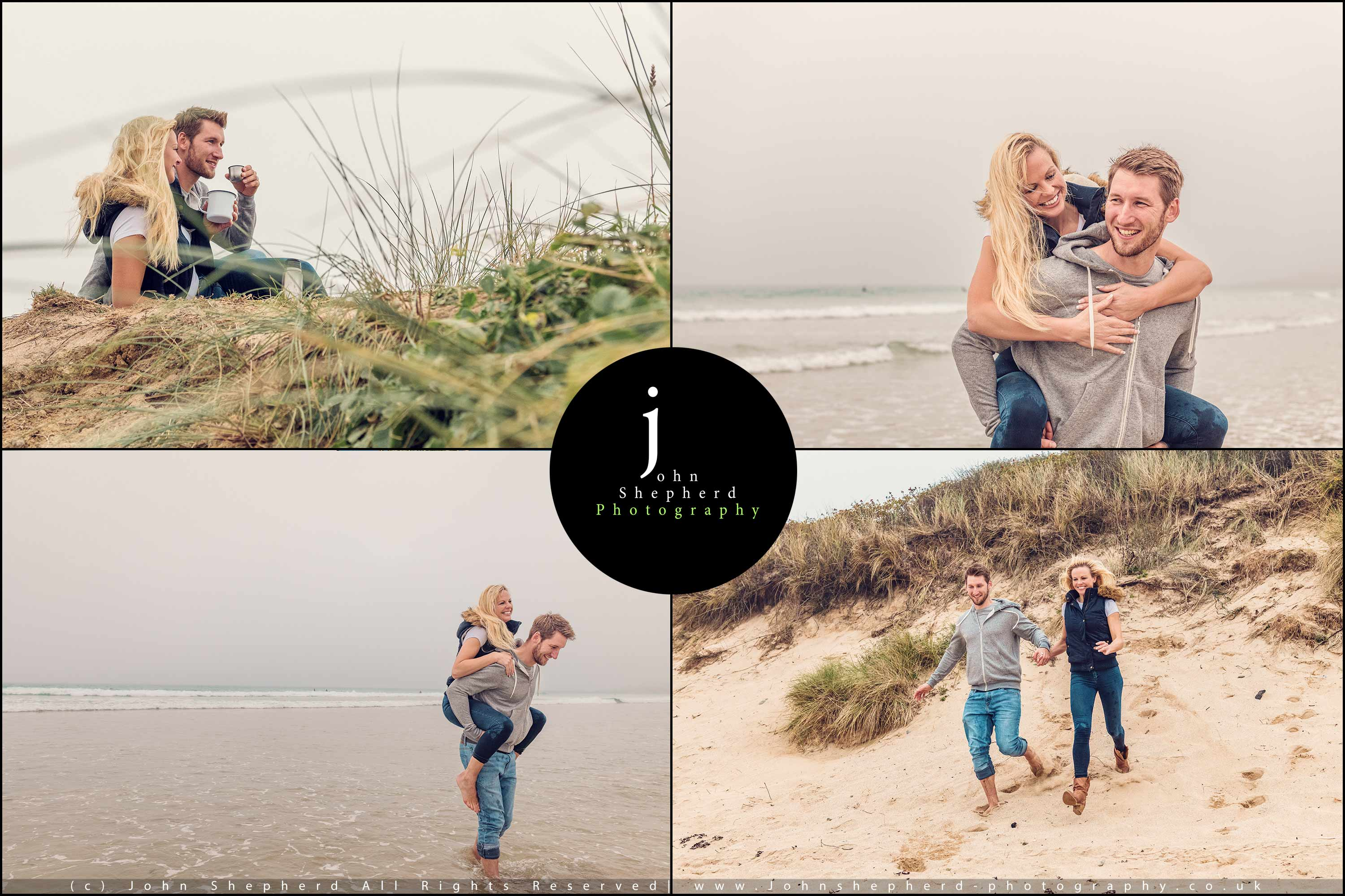 Coastal Couple Lifestyle Photography.