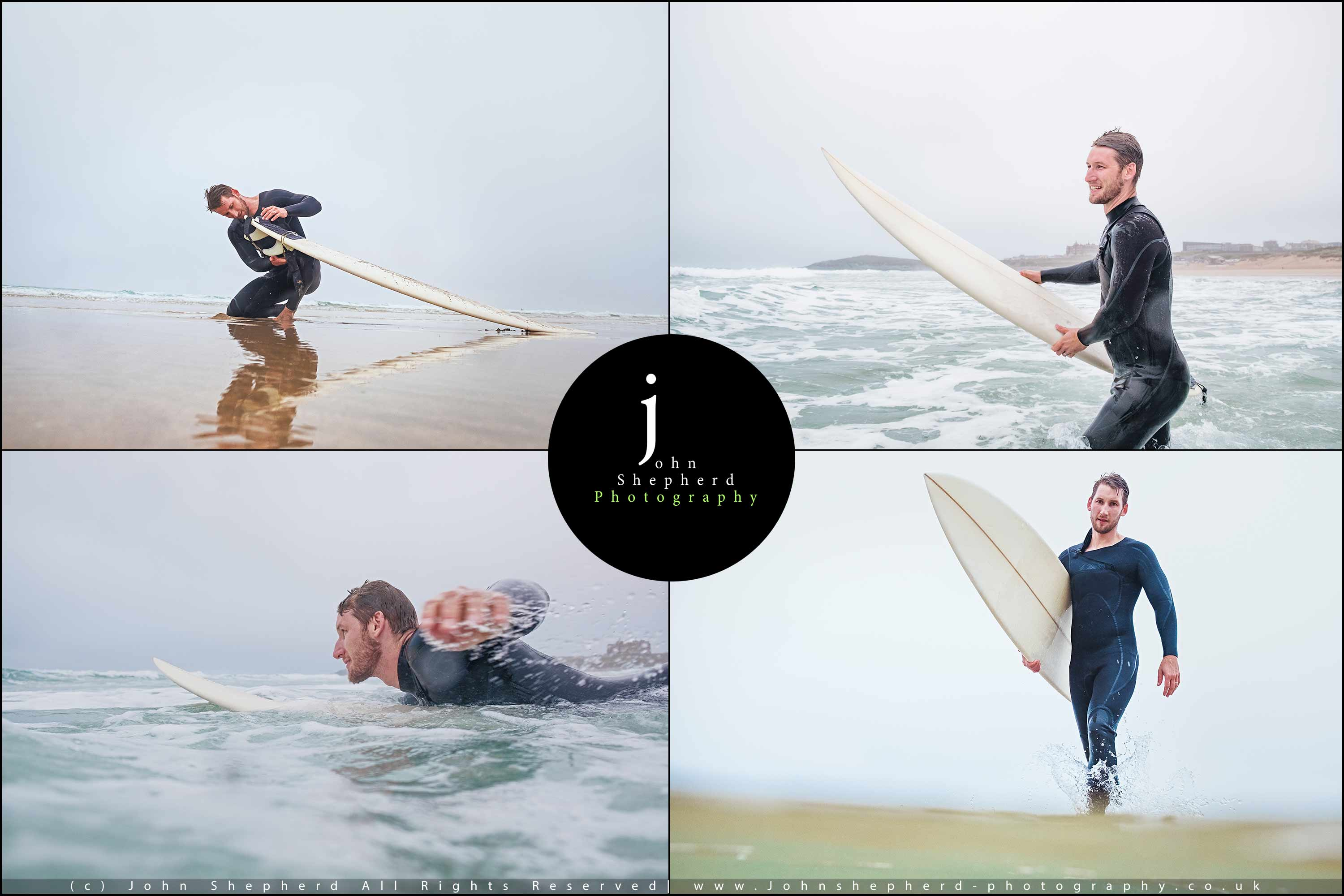 Surfer Lifestyle Photography.